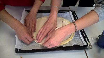 Préparation de la galette 3